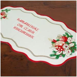 Сувениры новогодние с вышивкой