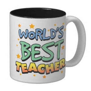 Чашка — World's best teacher
