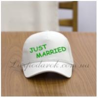 Бейсболка с надписью - Just married