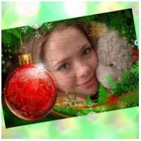 Пазлы с Вашим фото в рамке - Новый год