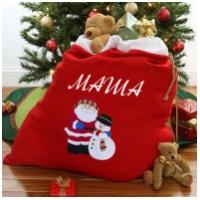 Мешок для новогодних подарков с Вашим именем