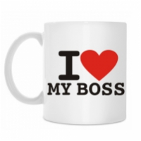 Чашка — I Love My Boss